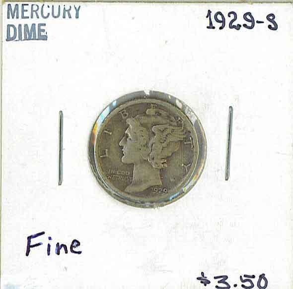 Coin Grading - Cardboard Flip Coin Holder