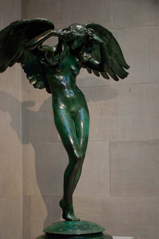 Descending Night Sculpture by Adolph Weinman