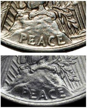 Peace Dollar - High Relief vs Low Relief Coins