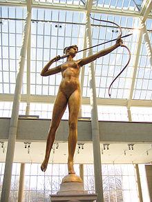 Diana statue designed by Augustus Saint Gaudens