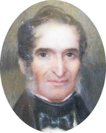 Portrait of Christian Gobrecht Coin Designer and Engraver