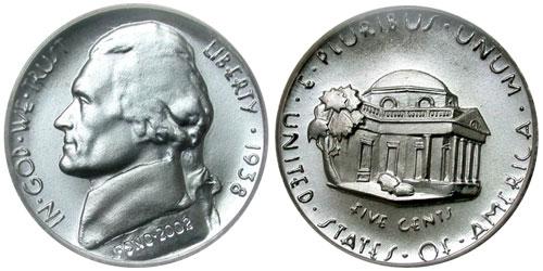 Felix Schlag's Original Jefferson Nickel Design
