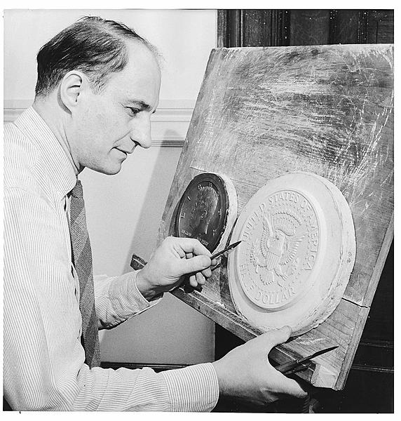 Frank Gasparro - US Chief Coin Engraver and Sculptor