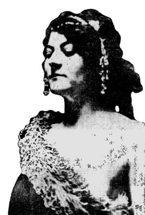 Doris Doscher - Model of Standing Liberty Quarter