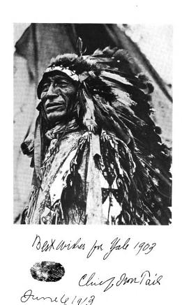 Chief Iron Tail - Inspiration for the Buffalo Nickel