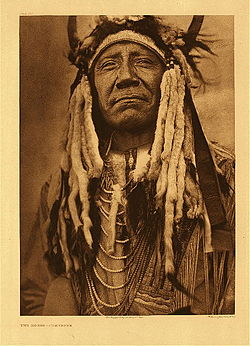 Chief Two Moons - Inspiration for the Buffalo Nickel