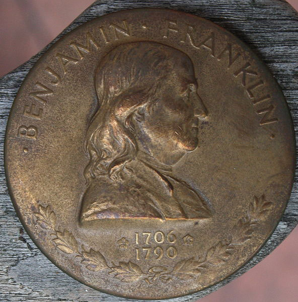 Medal of Benjamin Franklin - designed by John Sinnock