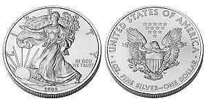 One Ounce $1 American Silver Eagle