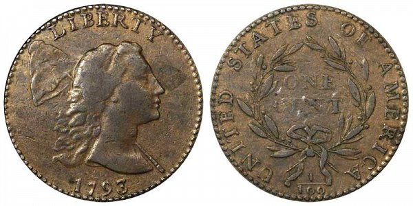 1793 Liberty Cap Large Cent Penny