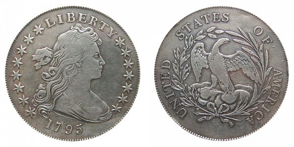 1795 Draped Bust Silver Dollar - Centered Bust