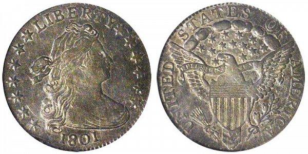 1801 Draped Bust Dime