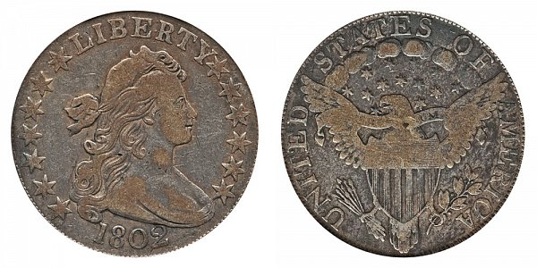 1802 Draped Bust Half Dollar