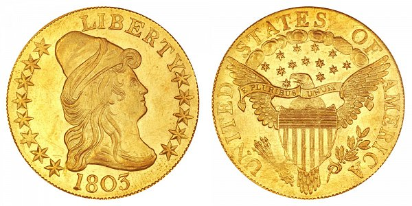 1803 Small Stars - Turban Head $10 Gold Eagle - Ten Dollars