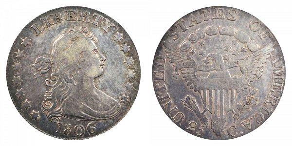 1806 Draped Bust Quarter