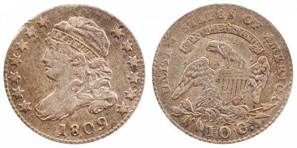1809 Capped Bust Dime