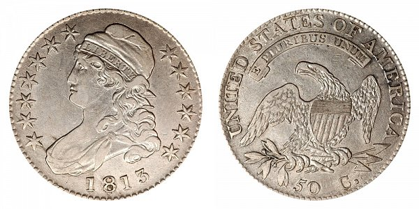 1813 Capped Bust Half Dollar