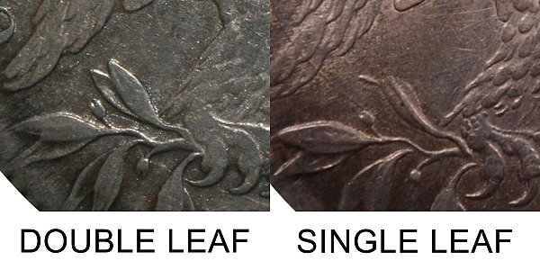 1817 Single Leaf Capped Bust Half Dollar