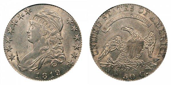 1819 Capped Bust Half Dollar