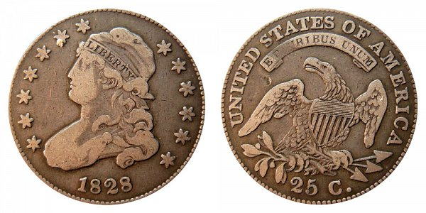 1828 Capped Bust Quarter