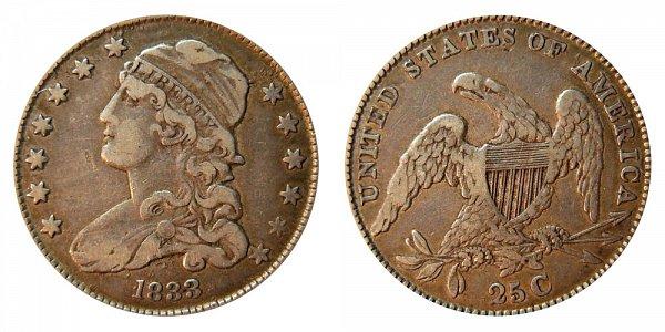 1833 Capped Bust Quarter