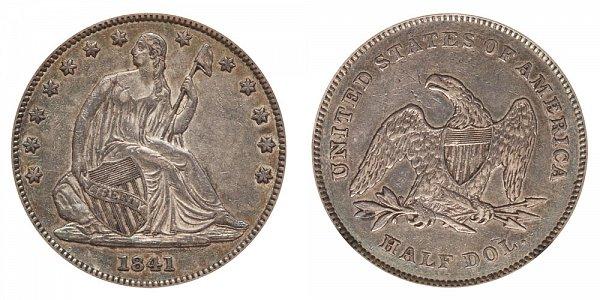 1841 Seated Liberty Half Dollar