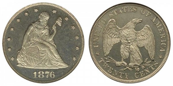 1876 Twenty Cent Piece