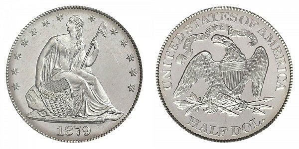 1879 Seated Liberty Half Dollar
