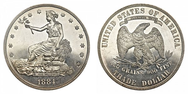1884 Trade Silver Dollar Proof
