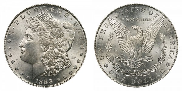 1888 S Morgan Silver Dollar