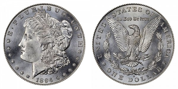 1894 S Morgan Silver Dollar
