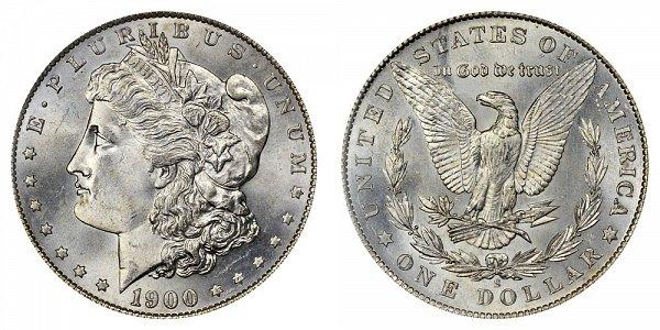 1900 S Morgan Silver Dollar