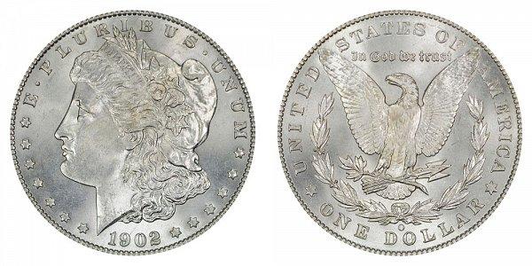 1902 O Morgan Silver Dollar