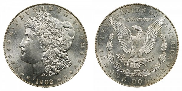1902 S Morgan Silver Dollar