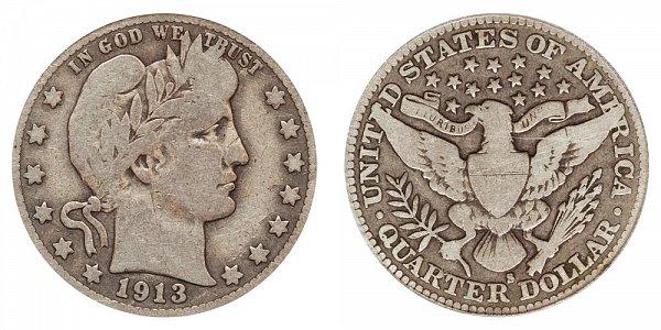 1913 S Barber Quarter