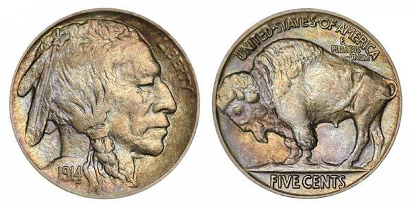 1914 Indian Head Buffalo Nickel