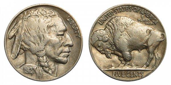 1927 Indian Head Buffalo Nickel