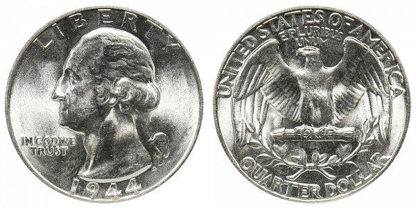 1944 Washington Silver Quarter