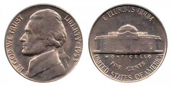 1953 Jefferson Nickel