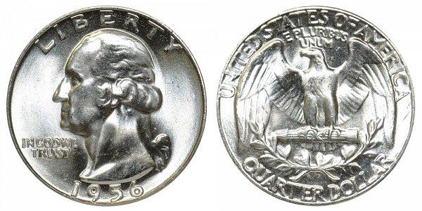 1956 Washington Silver Quarter