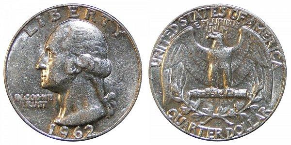 1962 Washington Silver Quarter