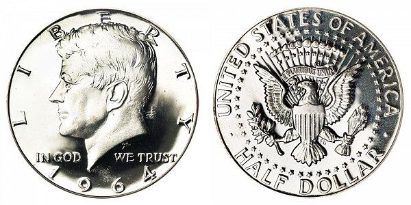 1964 Silver Kennedy Half Dollar