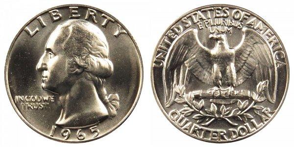 1965 Washington Quarter