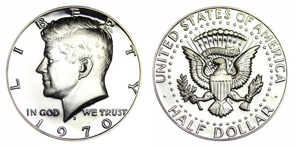 1970 S Silver Kennedy Half Dollar Proof
