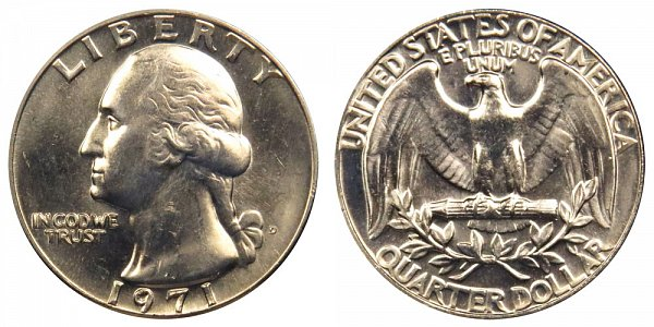 1971 D Washington Quarter