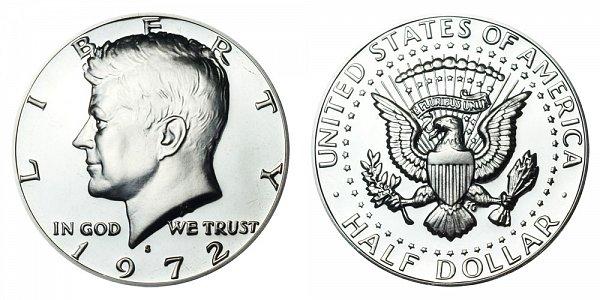 1972 S Kennedy Half Dollar Proof