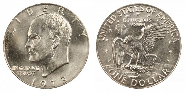 1973 Eisenhower Ike Dollar