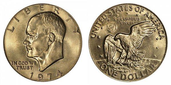 1974 Eisenhower Ike Dollar