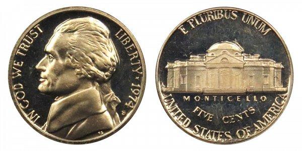 1974 S Jefferson Nickel Proof