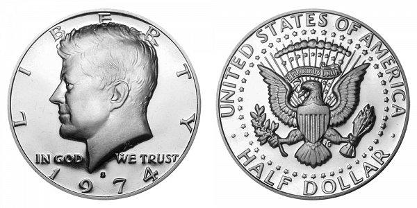 1974 S Kennedy Half Dollar Proof