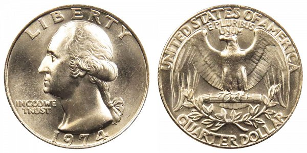 1974 Washington Quarter